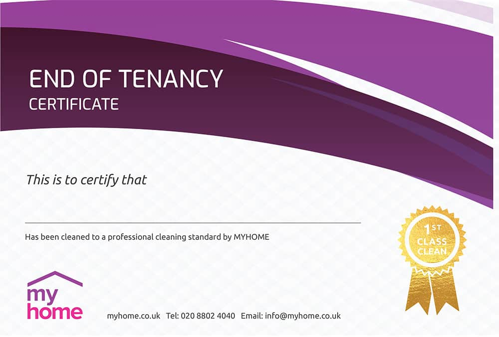 End-of-Tenancy-Cleaning-Certificate